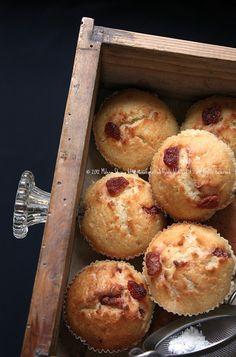 Muffins con ciliegine