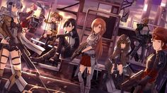 Sword Art Online 2 Kirito Asuna Sinon Anime 1920x1080