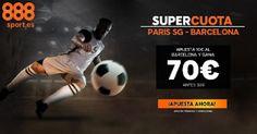 el forero jrvm y todos los bonos de deportes: 888sport supercuota 7 Barcelona gana PSG champions...