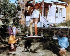 Pippi at the Villa Villekulla Pippi Longstocking, The Power Of Love, Through The Looking Glass, Poses, Tomboys, Film Movie, Cute Kids, Childhood Memories, Old Things