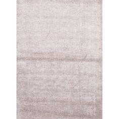Juniper Home Aurora Handmade Solid Light Gray Area Rug (9' X 13') (9x13), Grey, Size 9' x 13'
