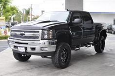 Lifted 2013 Chevy Silverado 1500 LT Southern Comfort Black Widow