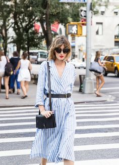 Stripes on 5th Avenue perfect style