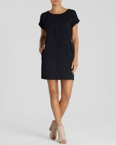 Eileen Fisher Dot Print Shift | Bloomingdale's