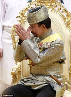 Sultan Haji Hassanal Bolkiah Hassanal Bolkiah, GCB GCMG (born 15 July 1946) is the 29th and current Sultan and Yang Di-Pertuan of Brunei. He is also the first and incumbent Prime Minister of #Brunei. The eldest son of the late Sir Muda Omar Ali Saifuddien III and the late Raja Isteri Pengiran Anak Damit, he succeeded to the throne as the Sultan of Brunei, following the abdication of his father on 4 October 1967.