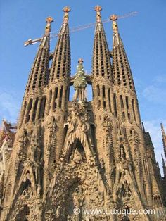 Indeed, Gaudi's work is out of this world.  His love for nature is unashamedly expressed in his architectures, where straight lines and regular shapes are expected…. but not for Gaudi.  For Gaudi, as in nature, so in his buildings!  His architecture is not about straight lines and regular shapes, but about beauty!