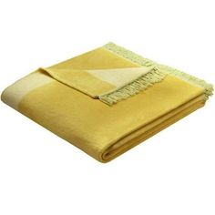 żółte koce - limonkowy koc Bocasa Orion Cotton Plus - NieMaJakwDomu