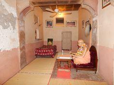 Srila Prabhupada's room at Radha Damodar