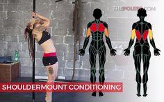 Pole shouldermount exercises