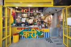 Hospitality Styling | Adva Hofstein Outdoor Restaurant Design, Restaurant Indian, Colorful Restaurant, Restaurant Themes, Coffee Shop Interior Design, Cafe Interior, Cafe Design, Indian Cafe, Small Restaurants