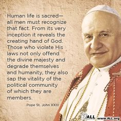 Pro Life Quotes Mesmerizing Pope Franciscatholicabortion  Special Things And Amazing
