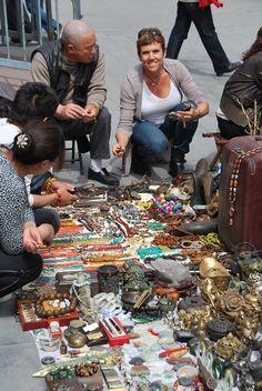 market in Beijing China