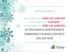 Luxury Apartments In Brookhaven GA Holiday Hours, Luxury Apartments, Happy Holidays, Note, Learning, Teaching, Studying