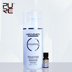 Brazilian Keratin Treatment straightening 8% Keratin hair treatment 500ml hair care repair damaged hair Free shipping