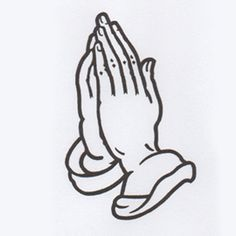 simple praying hands design - Google Search
