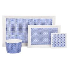 vaisselle bleue motifs orientaux | zara home