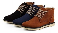 - Classic desert mid-top boots for a casual look - Made from suede - Available in 3 colors
