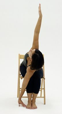 10 Yoga Poses You Can Do in a Chair