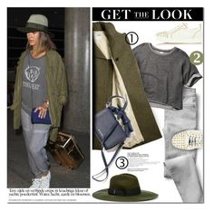"""""""Get the look: Celebrity Airport style"""" by purpleagony ❤ liked on Polyvore featuring Gap, Trilogy, Abercrombie & Fitch, Diesel and Christian Louboutin"""