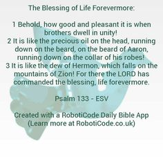 """#Bible verse found with """"Prayers & Blessings Daily"""" for Android, iPhone and Kindle Fire! http://www.roboticode.co.uk"""