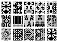 perfect for double knitting Knitting Charts, Knitting Stitches, Knitting Designs, Knitting Projects, Knitting Patterns, Crochet Patterns, Cross Stitch Borders, Cross Stitch Patterns, Mochila Crochet