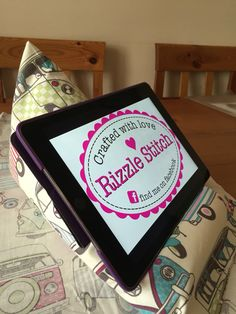 Tablet Cushion - perfect for the kiddies to watch their movies on