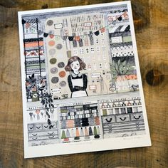 The Notions Shop - Print