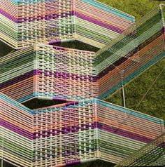 Missoni corded chairs