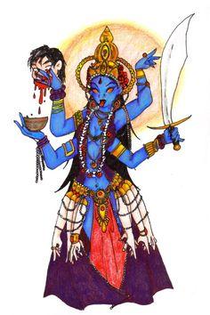 Kali by BlackMageChan.deviantart.com on @DeviantArt