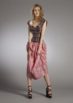 Vivienne Westwood Garden Cocktail Dress Capsule Collection #AW1516