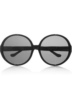 The Row ~ Oversized round-frame acetate sunglasses