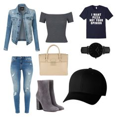 Geen titel #3 by anne-berghorst on Polyvore featuring polyvore, fashion, style, Miss Selfridge, LE3NO, Ted Baker, Gianvito Rossi, Furla, CLUSE, Flexfit and clothing