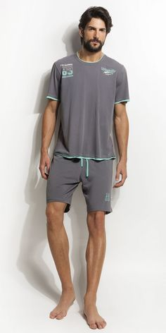 Men's Pyjamas Cotton Men's Pajamas, Cotton Pyjamas, Mens Summer Pajamas, Barefoot Men, Hommes Sexy, Male Feet, Cute Guys, Pretty Boys, Lounge Wear