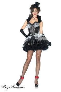 Leg Avenue Womens Queen Of Darkness Costume BlackGray Large >>> More info could be found at the image url.