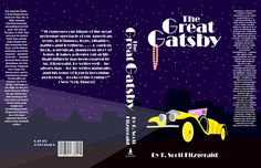 Great Gatsby book cover by LoneWolfLuke.deviantart.com on @DeviantArt