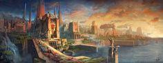 DeviantArt: More Like The Old Dragon God by JJcanvas