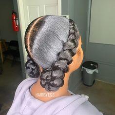 Box Braids Hairstyles, Black Girl Braided Hairstyles, Cute Hairstyles For Medium Hair, Black Girl Braids, Baddie Hairstyles, Braids For Black Hair, Medium Hair Styles, Curly Hair Styles, Natural Hair Styles