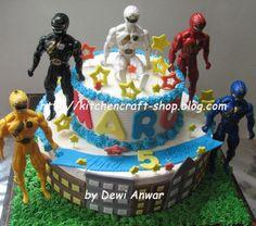 power ranger cakes | Power Ranger Cake