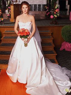 Grace Adler wedding dress from Will and Grace