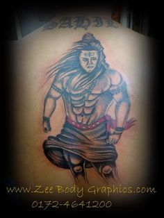 Look at other shiva tattoo designs. finding a great tattoo for you can be inspired