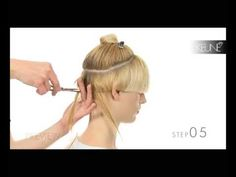 Trend Collection 2009 - Step by Step Allure by Day - Eline cutting techniques