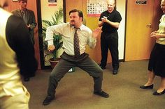 David Brent in The Office .... My fave comedy series of all time