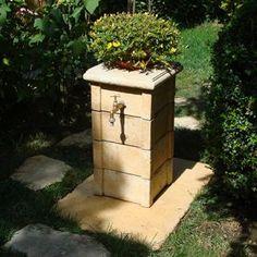 Výstavba záhradného kohútika