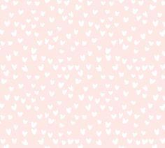 cestlaviv_BarelyThere hearts (Mini size) fabric by cest_la_viv on Spoonflower - custom fabric