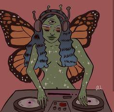 alien, artsy, and bape image