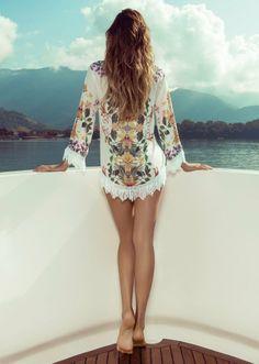 Isabeli Fontana Fronts Morena Rosa Beach Spring 2014 Ads