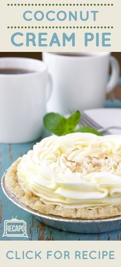 Clinton Kelly taught The Chew guest co-host NeNe Leakes a recipe that he came up with by combining favorite elements of desserts from both of his grandmothers. That's how he got this Coconut Cream Pie Recipe