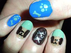 Doggie nails. :)
