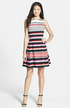 Stripes fit & flare!