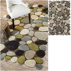 Shop for nuLOOM Hand-carved Stones and Pebbles Wool Rug (5' x 8'). Get free shipping at Overstock.com - Your Online Home Decor Outlet Store! Get 5% in rewards with Club O!